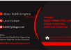 make professional and gorgeous business card for you
