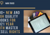 give 500 high quality ebooks with resell rights