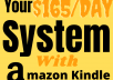 Teach you how to make $165 per day on Amazon Kindle