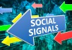 give 4000 High Quality SEO Social Signals for website Google Ranking