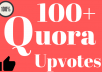 Add100+ High-Quality Quora Upvotes   Non drop   Fast Delivery   Life Time Guaranty
