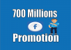 Promote Your Any Link Facebook 700 millions group members