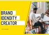 create your brand identity and provide social media kit