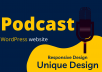 do a podcast WordPress website