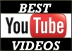 give you 1,000+ FAST you tube views to your Youtube video, fast delivery