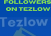 give you 2000+ followers on Tezlow