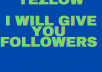 give you 3000+ followers on Tezlow