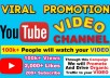 Do organically youtube promotion to boost your views