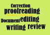 write, rewrite, edit, proofread any doc up to 330 words