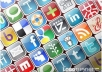 do manual social bookmarking submission to 50 top social bookmarking websites + Ping