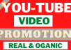 Provide Organic Youtube Promotion with Google Ads To Get View