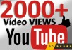 ADD you 2000+ views & 100 likes & 50 comments & 100 SUBS