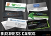 create professional businesscard within 48hrs