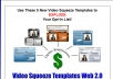give you 5 KILLER Video Squeeze Page Template with ready made sales page just