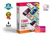 give Pack 1.000 Instagram Stories - Power Point