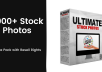 give 5700 Stock Photos Mega Pack with Resell Rights