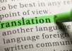 Do a flawless  translation  from English to French and from french to English