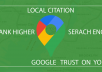 create 40 local citation for your business seo ranking