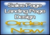 create KILLER Landing Page or Sales Page In Photoshop Just