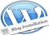 install Wordpress and your theme + necessary plugins on your hosting within 24 hours plus backlinks 2300++ bonus