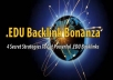 give you EDU Backlink Bonanza 2012 method