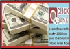 reveal the secret of making 2000 dollars into your CLICBANK account within the next 5 days