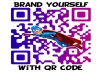create 5 absolutely AMAZING custom qr codes with your colors/logo/picture