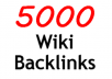 create 5000 Powerful Wiki Contextual Backlinks from Wiki Sites