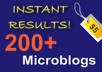 submit your url to 200 Microblogs and Status net Type Sites Beat Google Penguin