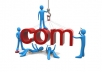 find 5 available .com domain names in any niche
