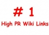 create 5000 HIGH PR WIKI links from 5000 wiki unique websites