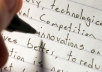 college essays, research papers and other writings