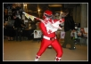 take a picture as the Red Power Ranger holding your message