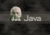 do your simple java assignments just