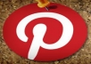 Give You 50+ Pinterest Followers 50 + likes, 5 Comments, And Also I will Repin 7 Items On Your Pinterest Account In less than 48 hours