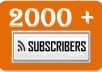 give you 1100+ Facebook SUBSCRIBERS to your Profile without Admin access