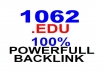 create 1062 EDU backlink different domain with permanent wiki backlink for your website seo backlink