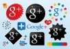 get you 100 Google Plus +1 Unique Votes from Different Accounts and IPs