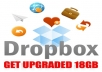 help to expand, Upgrade your DropBox Account Size up to 32GB