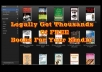 Millions of free books are available for your Kindle, with over 50,000 free Kindle books available on Amazon alone. The trick is finding them and getting them onto your Kindle. 