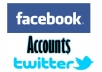 make you 30 Twitter or Facebook account