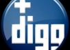 give you 40 people to digg your website,digg url,digg blog,digg any url,digg followers