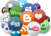 do 10 Facebook share,10 Tweet,10 Google Plus,10 Digg,10 Delicious,10 Stumbleupon and 10 Folkd for your Site or Blog or Youtube video