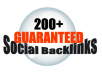 create 200 guaranteed social bookmarks, promote up to 3 URLs with FREE content spinning (Limited Time)