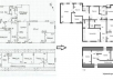 create a proper floor plan design from your hand sketch using AUTOCAD