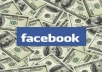 teach you how to make 500dollars a day with your facebook account