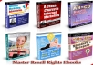 give you 200 master resell rights real moneymaking ebooks