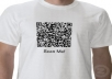 create 3 QR Codes with analytics tracking so you know how many of your customers are using it