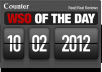 Give you 10 WSO Of The Day counter with PSD's