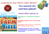 I'll send you items worth 45 farm cash in FarmVille. Minimum you need to buy is worth $10. So, do not waste your time and contact me and buy this gig...
